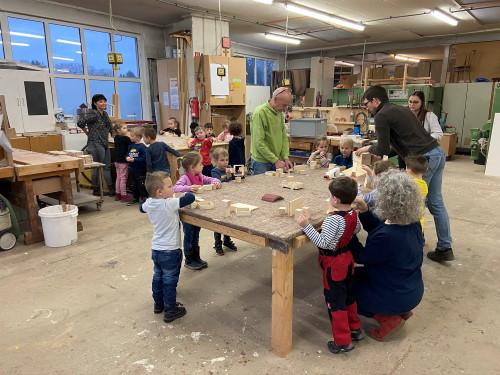 Kindergarten Pelm in Aktion