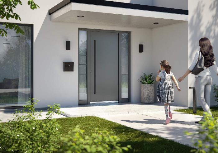 Einbruchhemmende Haustüren von Inotherm