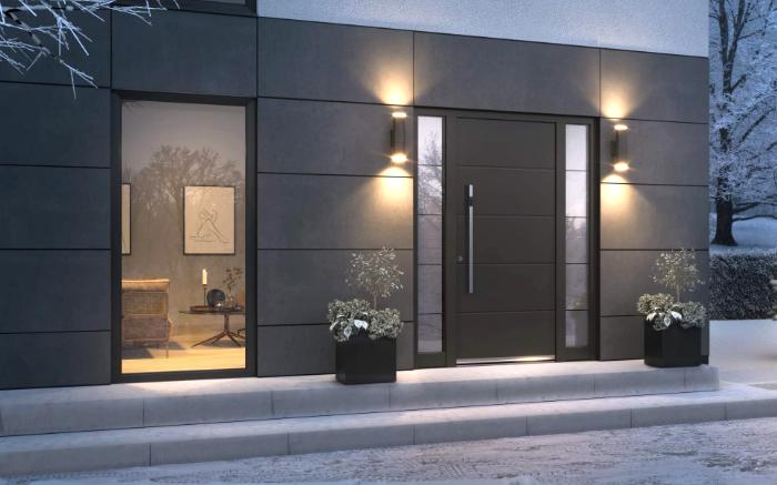 Alu-Haustüren – Darum immer die richtige Entscheidung