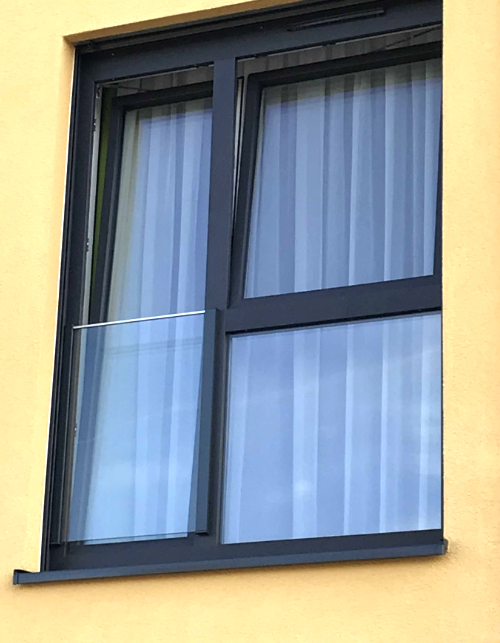 Absturzsicherung bodentiefe Fenster