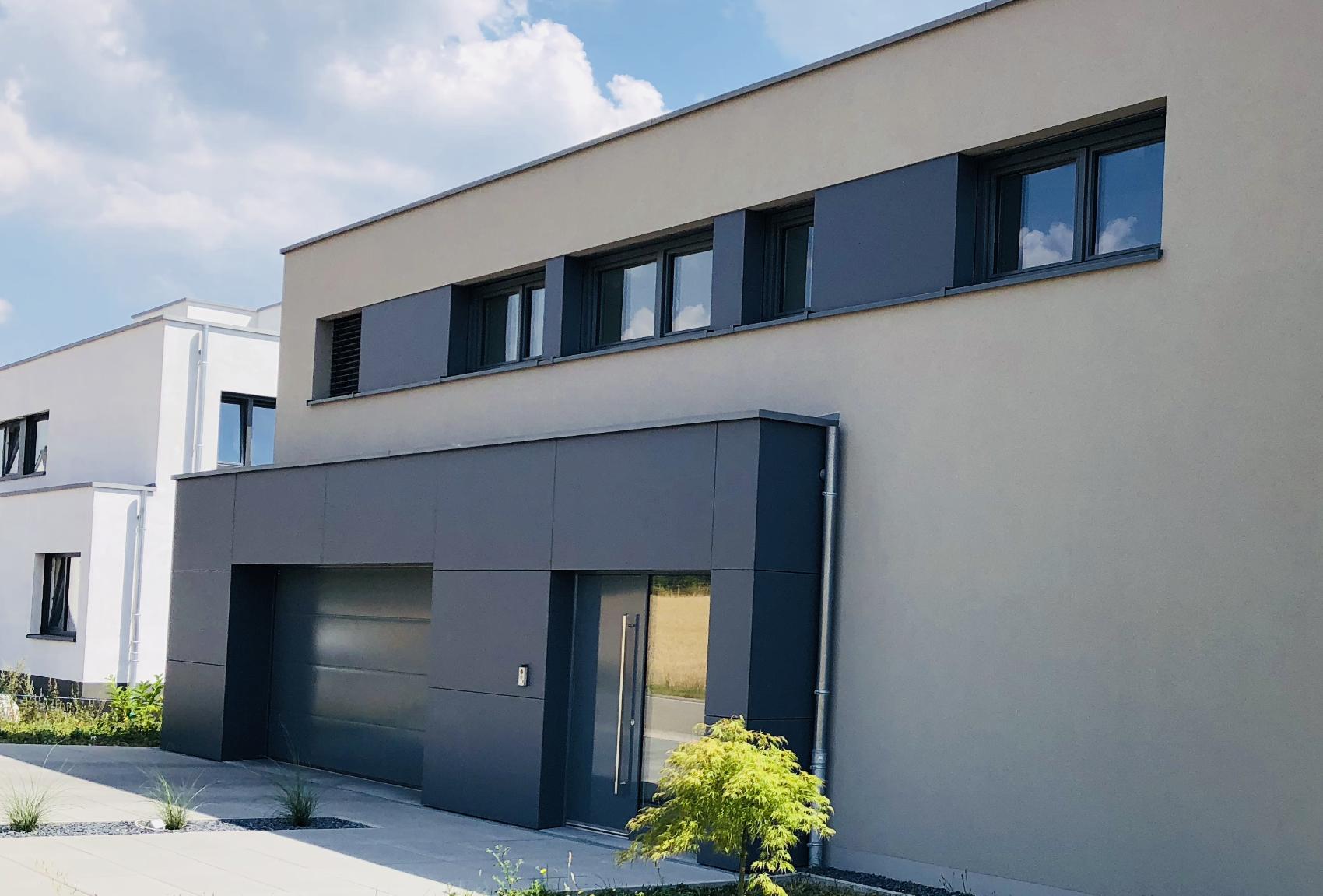 Premium PVC Fenster mit Alu-Schale
