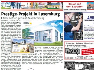 Bauprojekt Leudelange