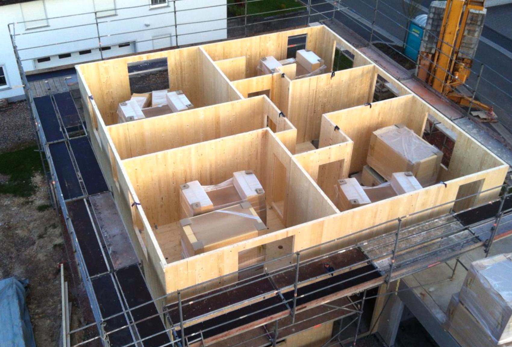 Hightech Holzbau - cltech