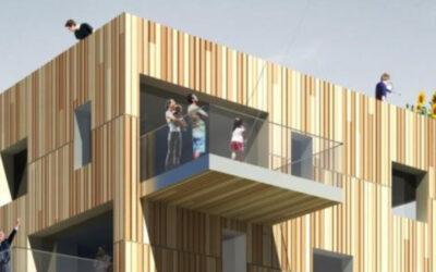 Hightech Holzbau meets Joleka Fenster