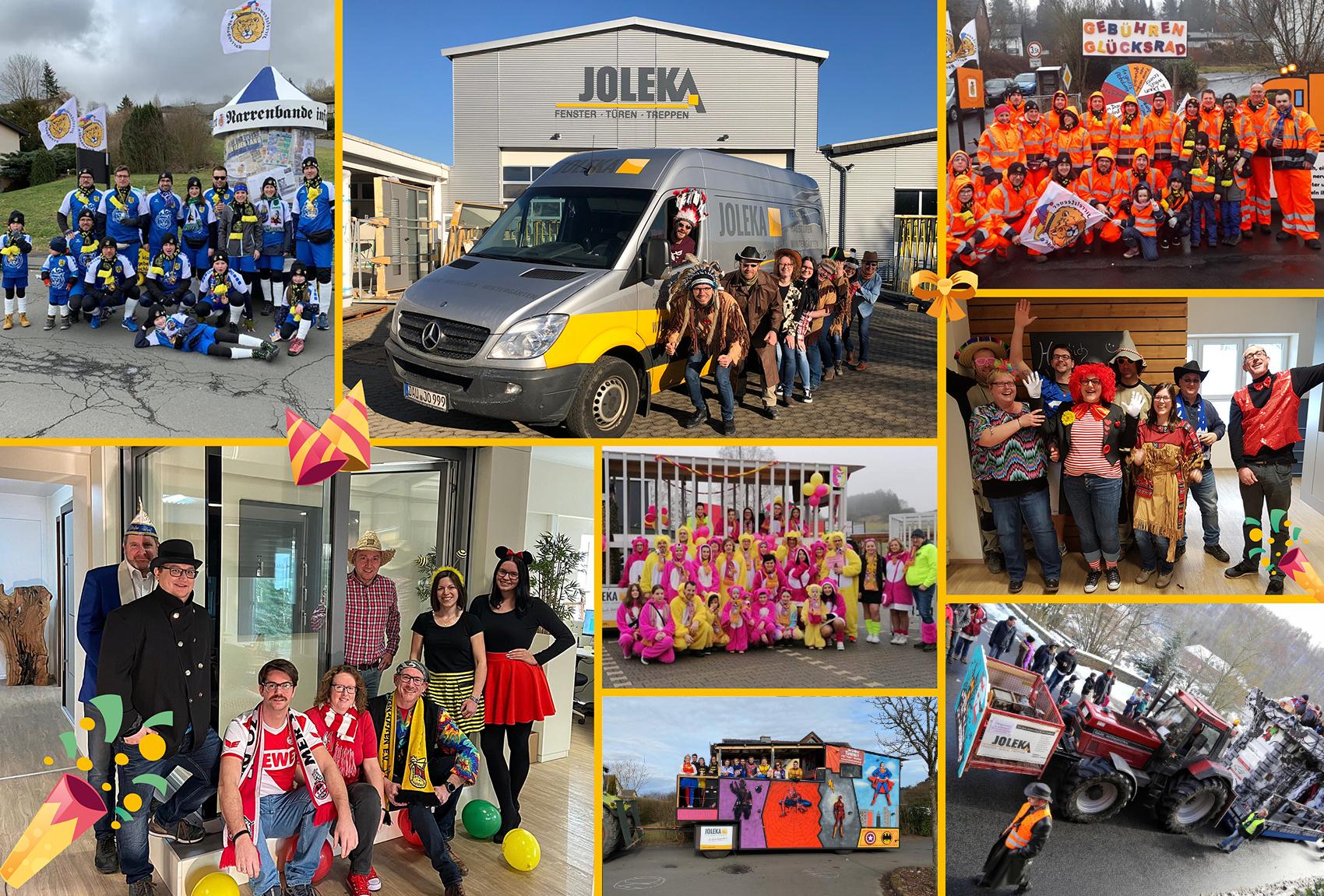 Wunderbare Karnevals-Erinnerungen aus den letzten Jahren