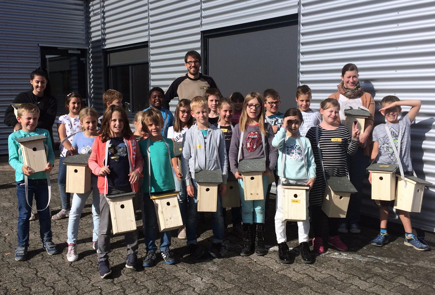 Grundschule Kelberg zu Besuch bei JOLEKA