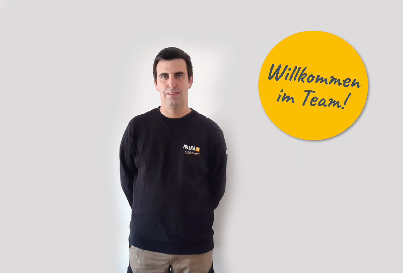Fabian Weber Kundendienst JOLEKA