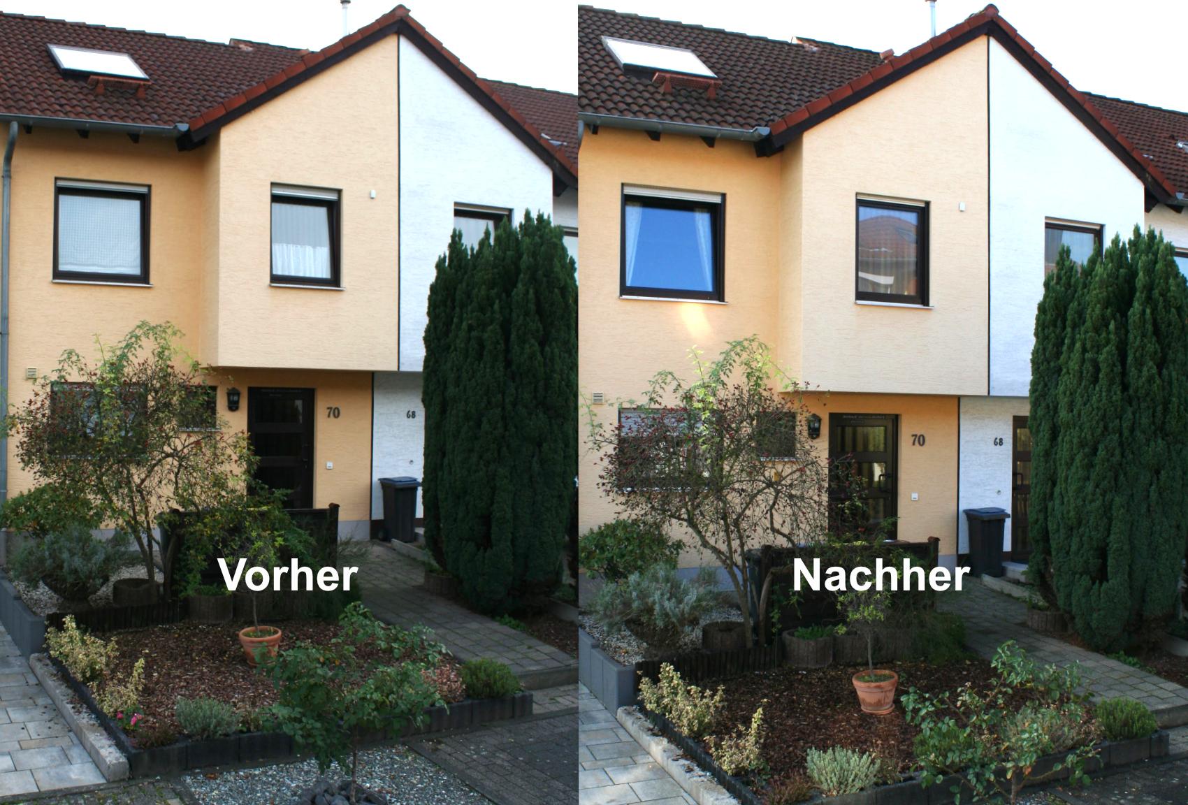 Fassaden-Optik erhalten