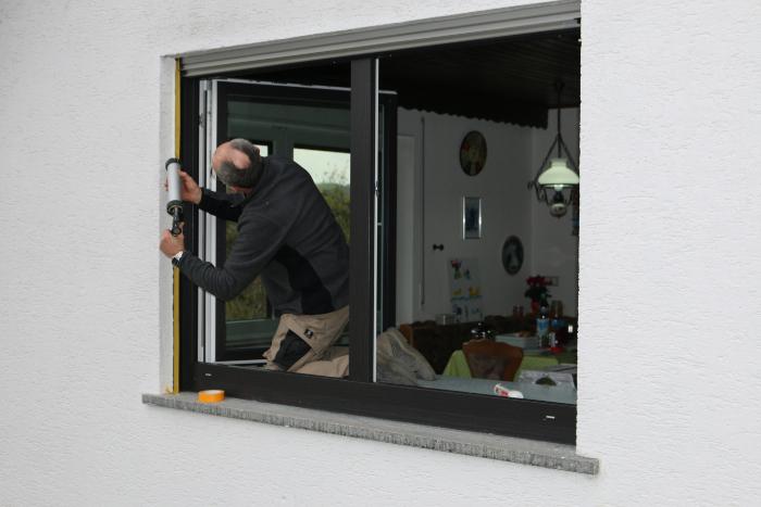 Fenster von aussen abdichten