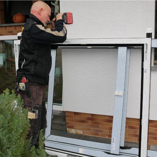 Fenster Vormontage