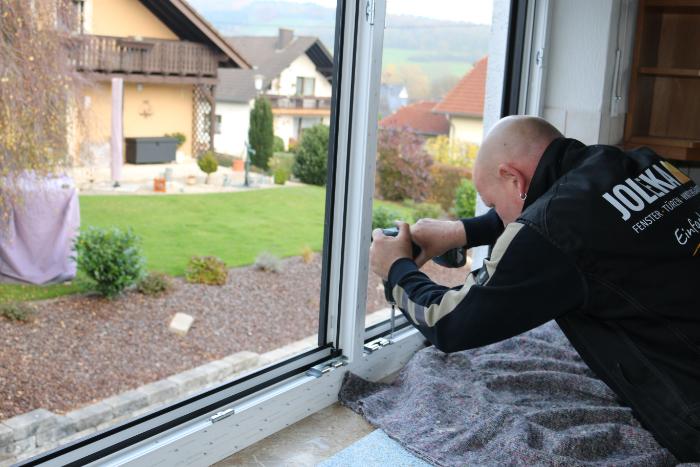 sauberer Fenstereinbau