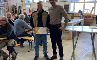 Jubiläum – langjährige Mitarbeiter geehrt