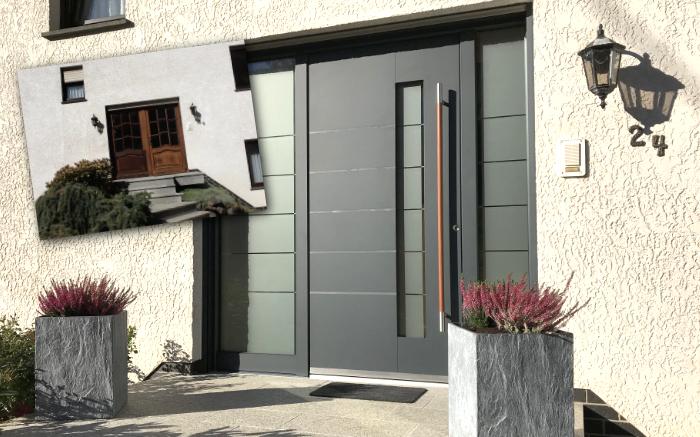Neue Haustüre: Der Vorher-Nachher-Effekt