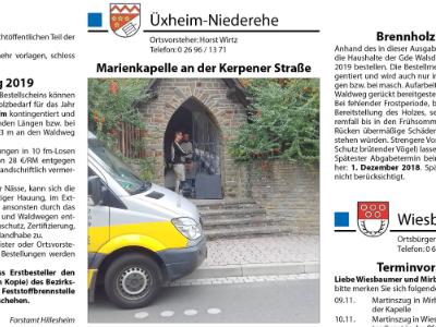 Marienkapelle Niederehe