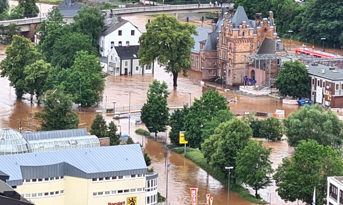Hochwasser Katastrophe 2021