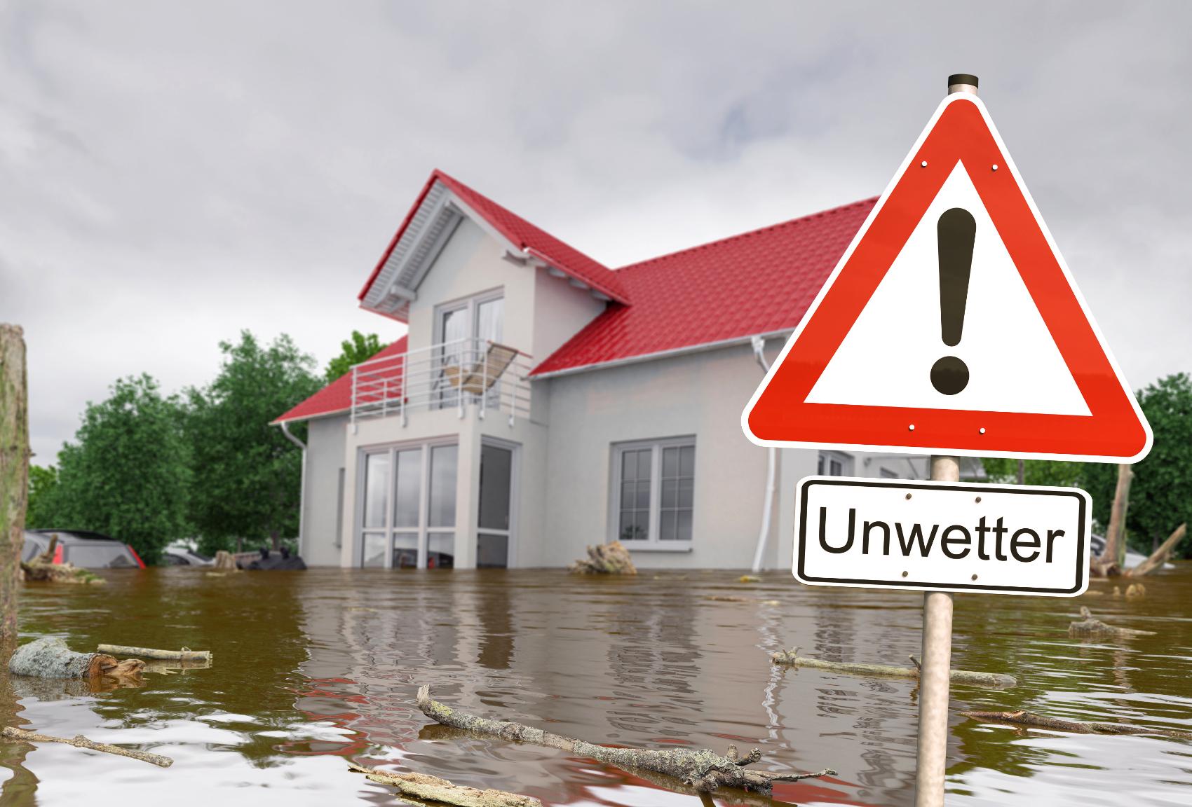 Hochwasser Schutztüren