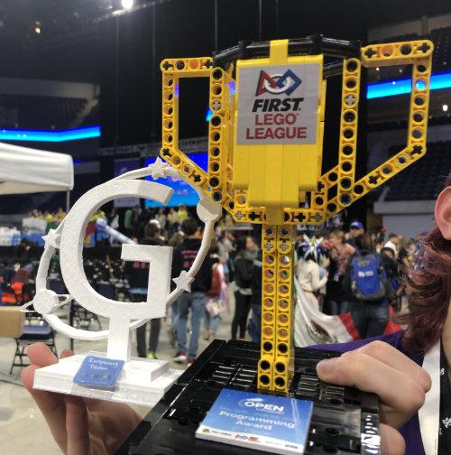Pokal der First Lego League