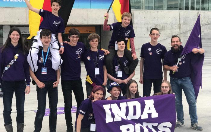 Sponsoring: Aachener Schüler erfolgreich bei der First Lego League in Uruguay