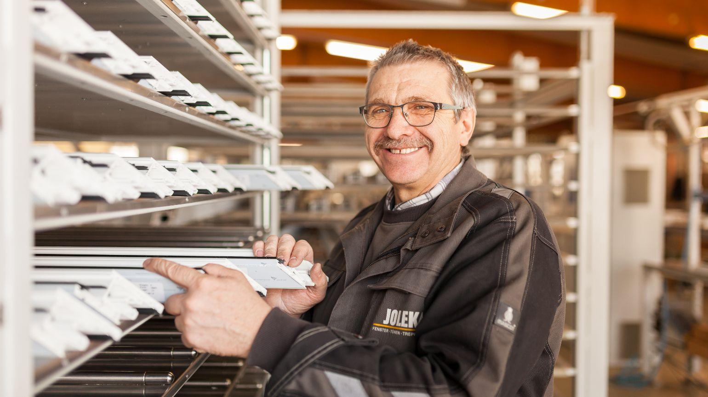 Johann Hein, Produktionsmitarbeiter seit 1994