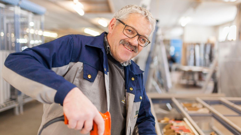 Albert Etten, Produktionsmitarbeiter seit 1975