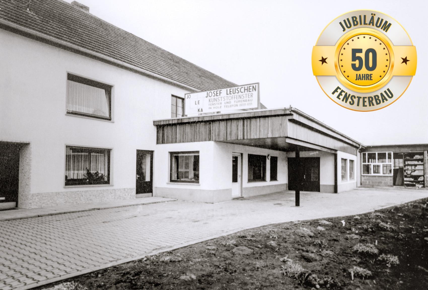 Jubiläum 50 Jahre Fensterbau