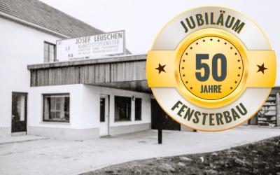Wir feiern Jubiläum! – 50 Jahre Fensterbau