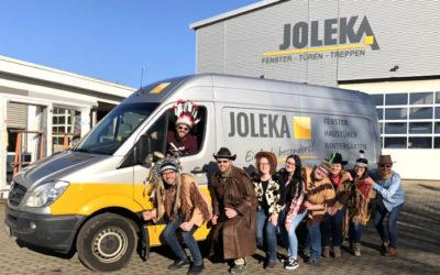 Alaaf & Helau – JOLEKA-Mitarbeiter feiern mit…