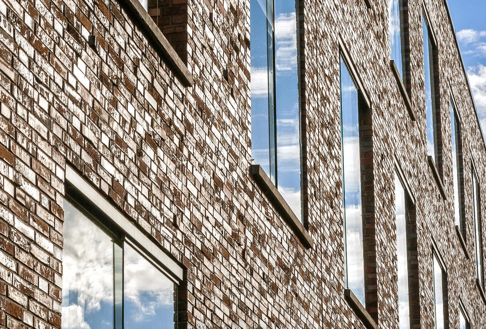 Fenstereinbau bei Klinkerfassade