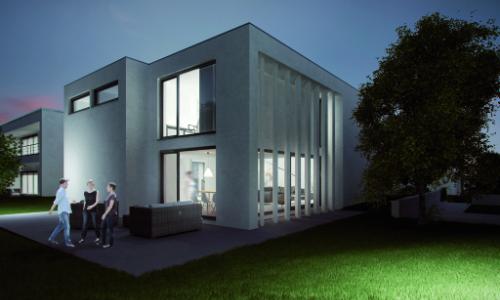 Neubaugebiet Luxemburg