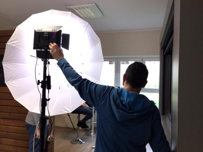 Making-of Videodreh