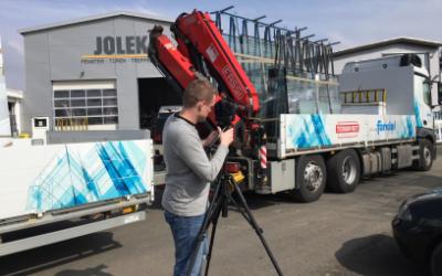 Dreharbeiten bei JOLEKA – So entsteht Ihr Fenster