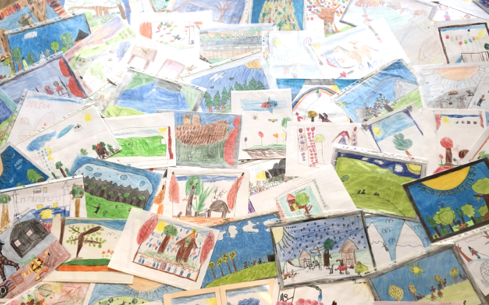 Kinder Malwettbewerb Eifel 2019