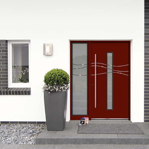Alu-Holz- & Alu-Haustüren sind äußert variabel im Design