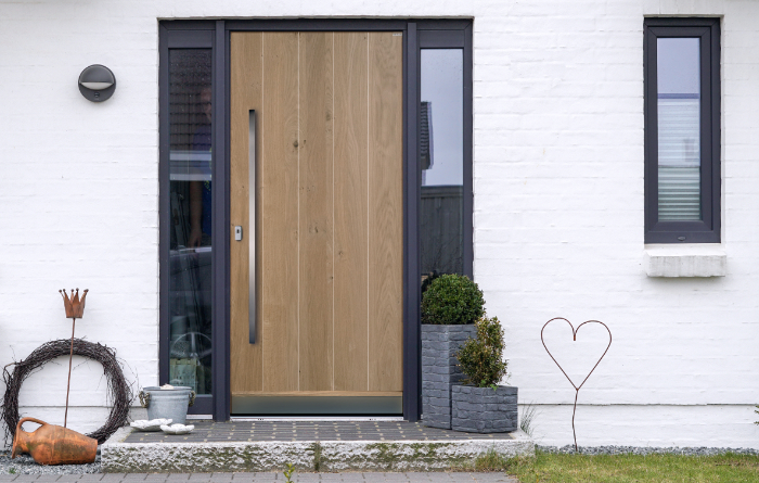 Häufig Welches Material ist das beste für meine neue Haustüre? - JOLEKA MD85