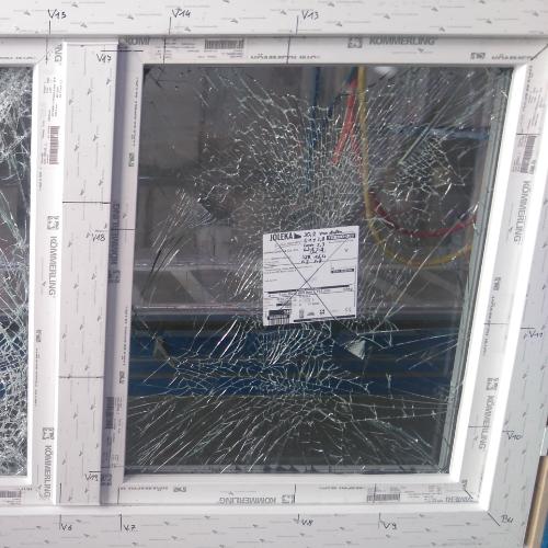 Neues Sicherheitsfenster leistet erfolgreich Widerstand