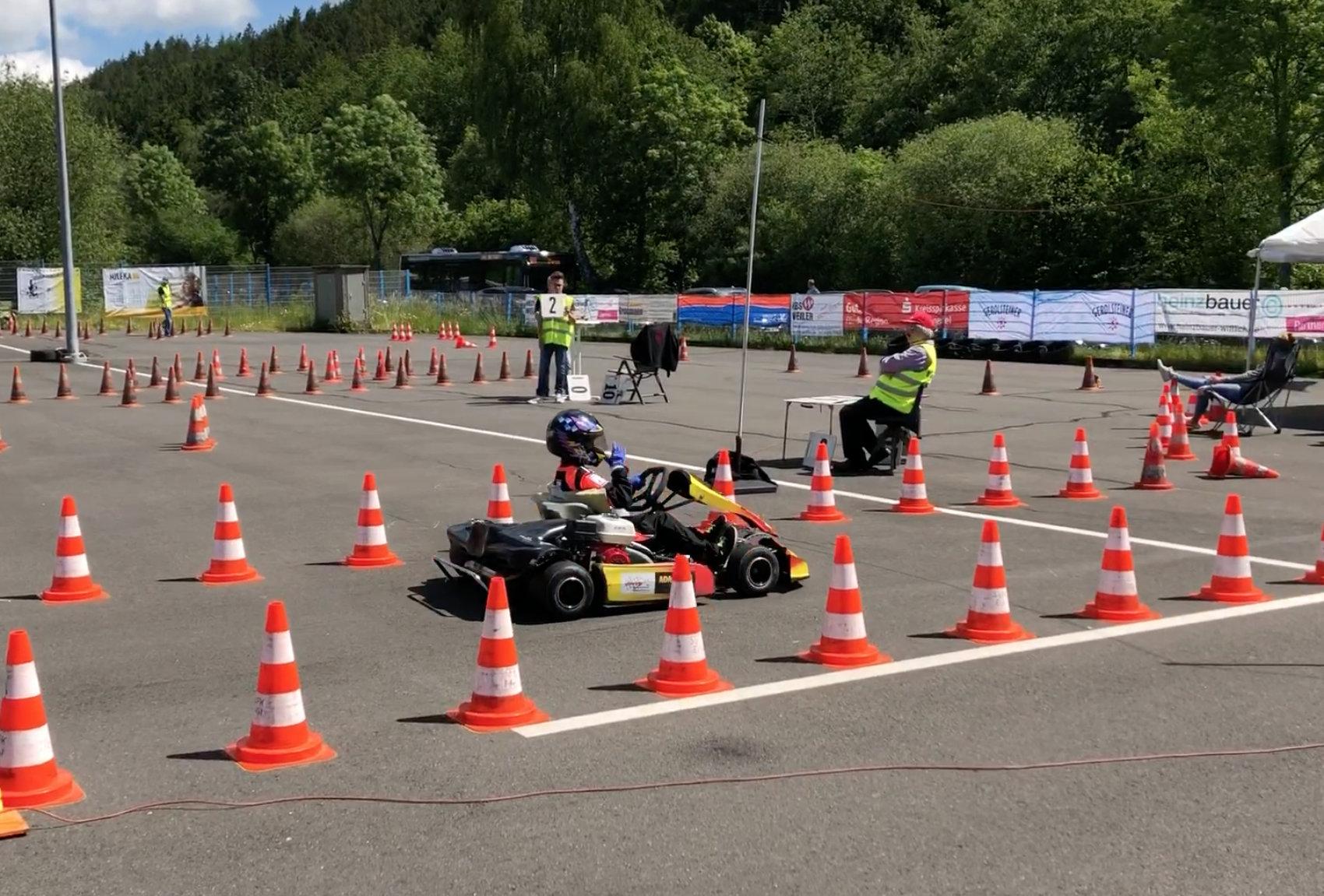 Kart-Slalom Daun