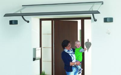 Vordächer – individueller Regenschutz für Ihren Hauseingang