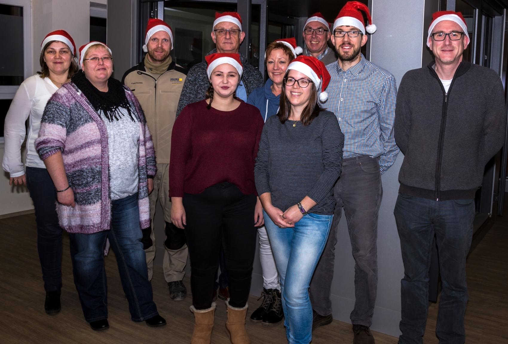 Ankündigung Betriebsferien Weihnachten - JOLEKA - einfach besonders