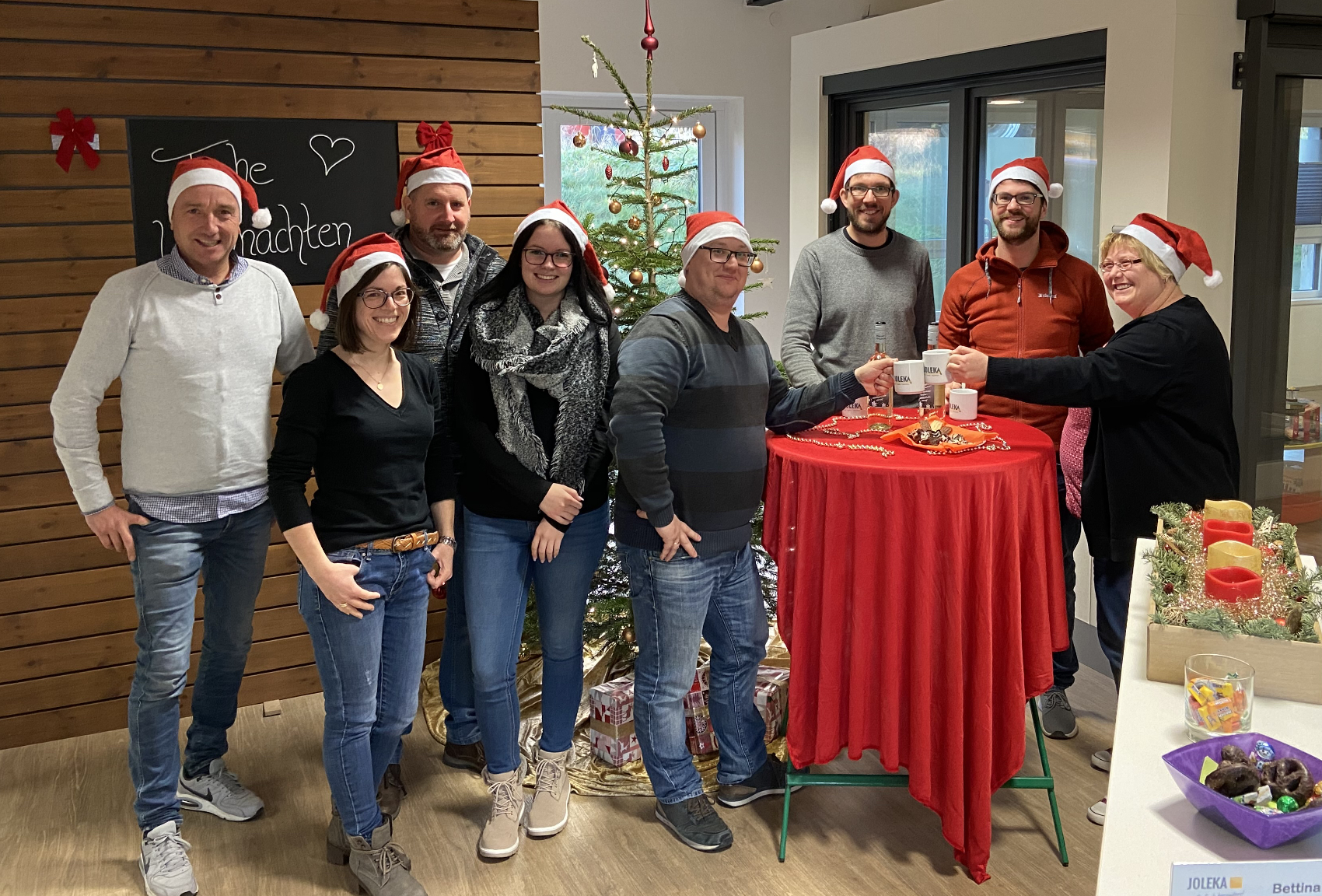 Betriebsferien Weihnachten JOLEKA