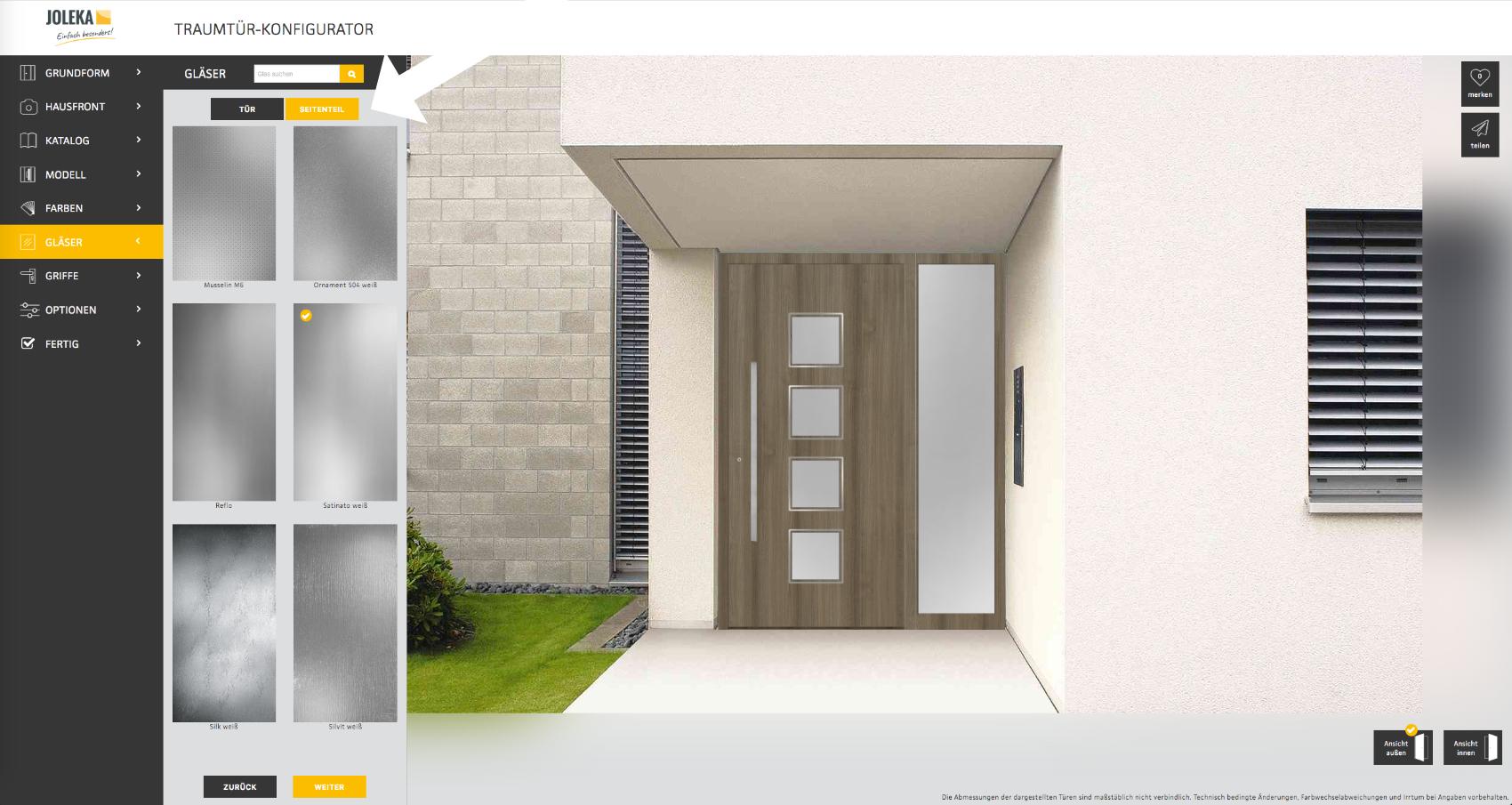 Haustür Design auswählen