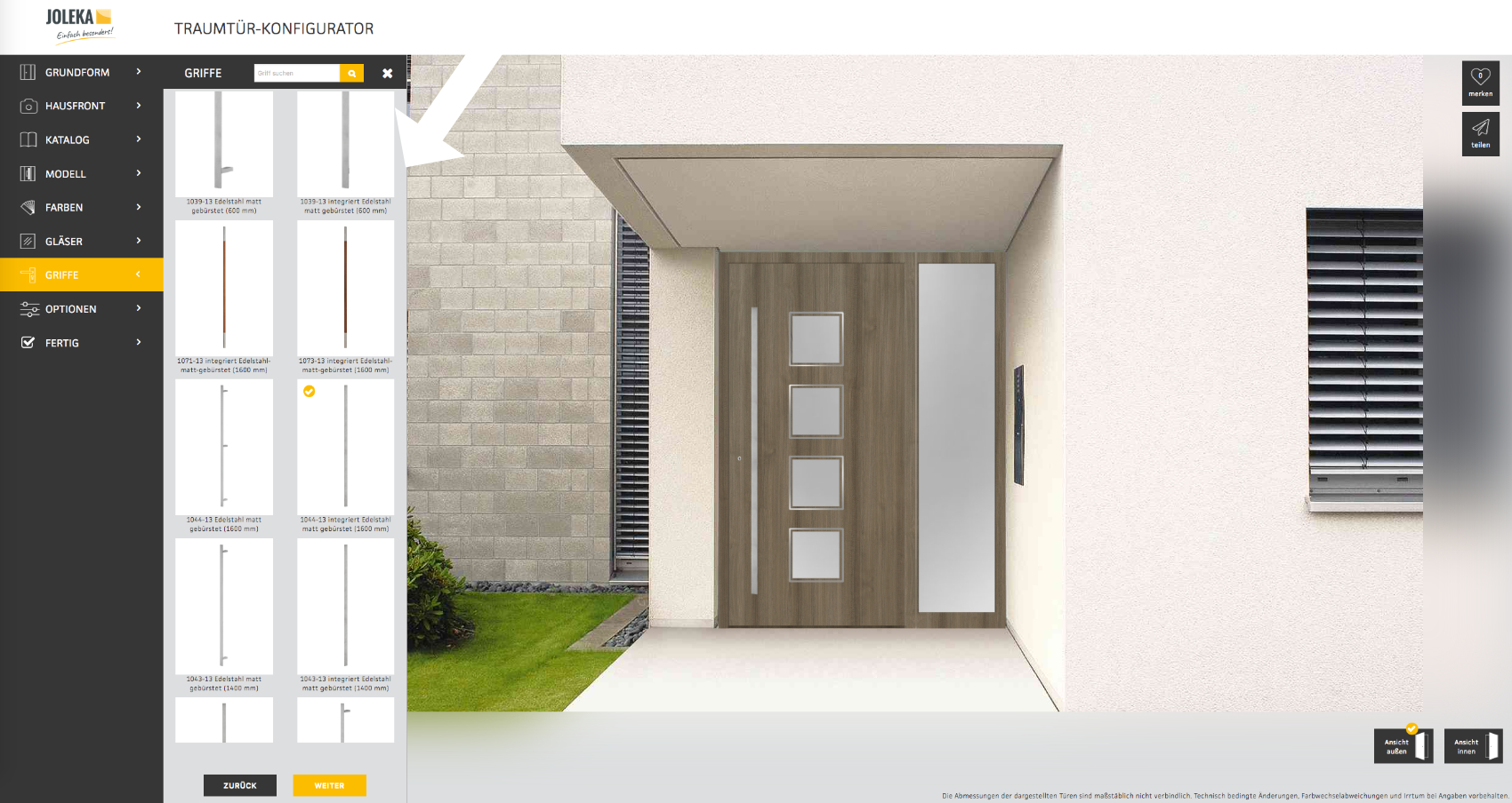 Haustür-Designer